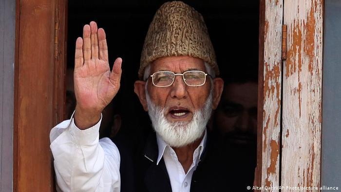 Tokoh kemerdekaan Kashmir, Syed Ali Shah Geelani.