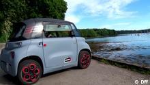 REV EL Citroen Ami © DW Schlagworte: elektrisch, Citroen, ohne Führerschein, unter 18, Jugendliche, Frankreich, Innovation