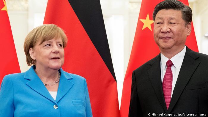 Deutschland China Angela Merkel Xi Jinping