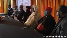 Ethiopian Religious Institutions Joint press conference Fotograf Solomon Muchie DW Korii in Äthiopien Datum 020921
