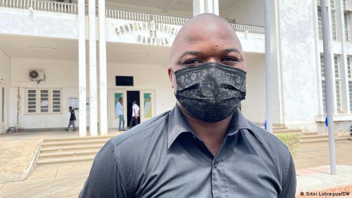 Ossufo Ulane, Stabschef des Bürgermeisters von Nampula