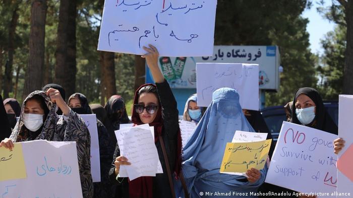 Protesta en Herat.