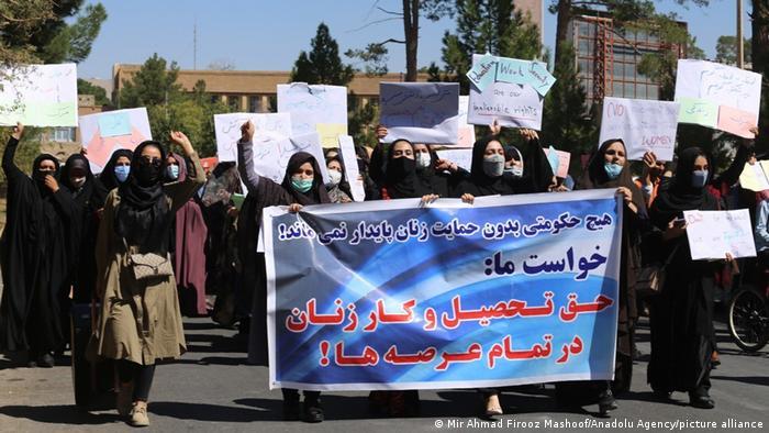 Afghanistan Herat | Protest Frauen