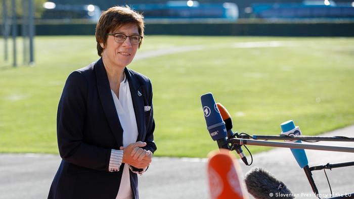 German Defense Minister Annegret Kramp-Karrenbauer