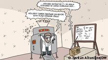 Thema: Die Korruptionsvorwürfe aus dem Jahr 2013 sind wieder Thema in der Türkei, weil ein damaliger Minister zugegeben hat, dass die Vorwürfe wahr sind.