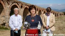 Irena Stefoska, Kulturministerin von Nordmazedonien 02.09.2021