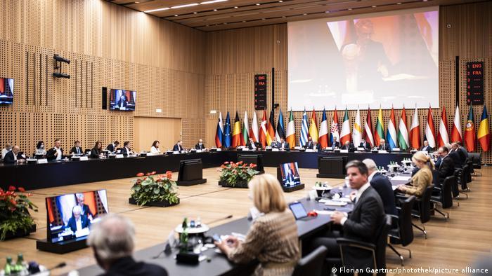 Встреча министров иностранных дел стран ЕС в словенском городе Брдо
