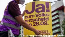 Deutschland Berlin Initiative Deutsche Wohnen & Co enteignen