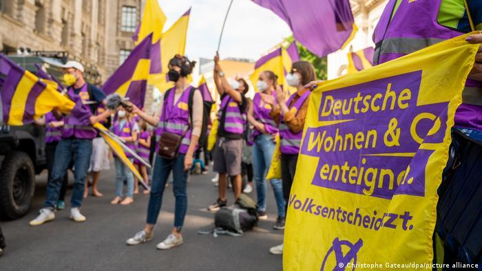 Enteignung der Initiative der Berliner Deutsche Wohnen & Co