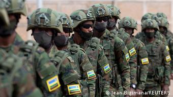 Ruanda Mosambik Militär