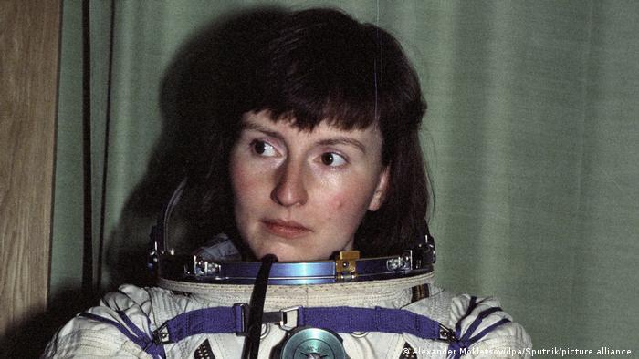 The UK's first astronaut Helen Sharman