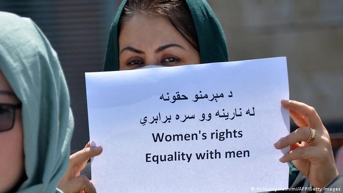 Afghanistan Frauen Protest gegen die Taliban