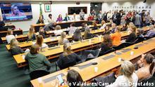 Brasilien - Frauen in der Politik Beschreibung: Treffen der Frauen, die bei den brasilianischen Wahlen 2018 zu Abgeordneten gewählt wurden. Copyright: Pablo Valadares/Câmara dos Deputados