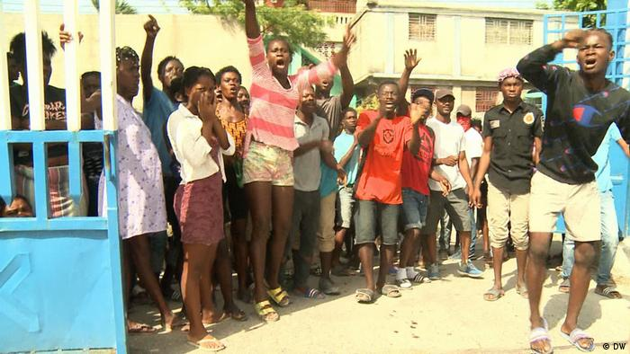 DW Reporter Haiti Les Cayes Erdbeben