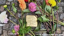29/08/2021 Stolperstein of Ferdinand James Allen, who was born in 1898 and died in 1941.