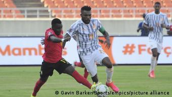 Fußball WM-Qualifikationsspiel Mosambik gegen Elfenbeinküste