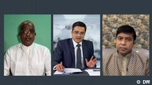 Khaled Muhiuddin Asks 072, Dr. Md Habibe Millat, Syed Moazzem Hossain Alal. This week's Khaled Muhiuddin Asks talkshow featured Syed Moazzem Hossain Alal and Dr. Md Habibe Millat Screenshots of a DW program,