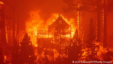 Wildfires destroy homes in California