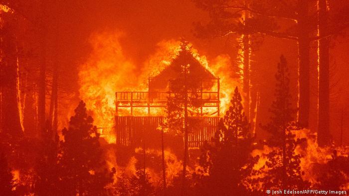 Incendios forestales en California. (Agosto de 2021).
