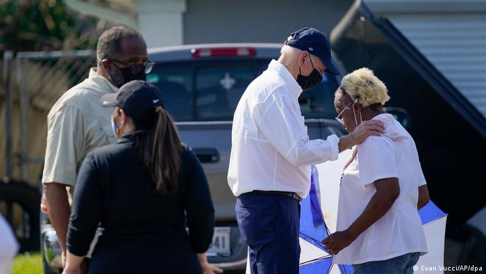 Louisiana   Besuch Joe Biden in LaPlace