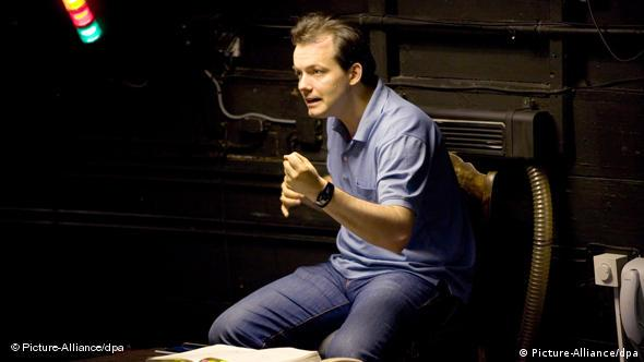 Andris Nelsons during of rehearsal of 'Lohengrin'