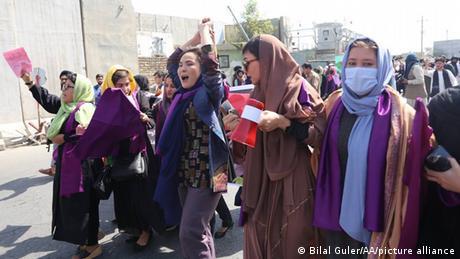 Αποφασισμένες να παλέψουν οι Αφγανές ακτιβίστριες