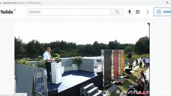 Виталий Кличко на мероприятии в Ганновере в поддержку кандидата в канцлеры Лашета