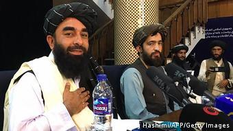 Taliban Sprecher Zabihullah Mujahid