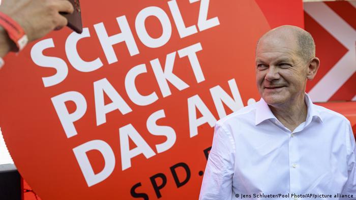 SPD Kanzlerkandidat Olaf Scholz