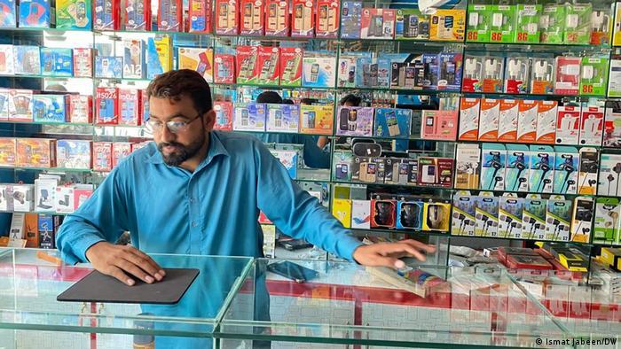 Pakistan   Verkauf von Mobiltelefonen