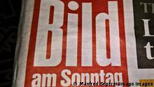 BILD am Sonntag, Kurzform BAMS, Sonntagszeitung, Axel Springer Verlag *** BILD am Sonntag, short form BAMS, Sunday newspaper, Axel Springer Verlag