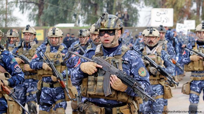 Irak | Polizei in Kirkuk