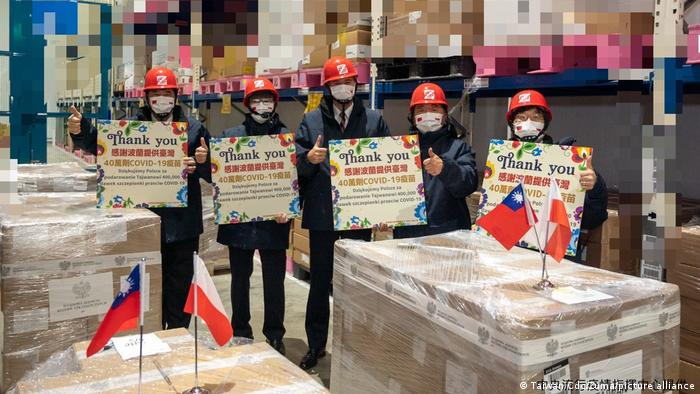 Taiwan Taoyuan   400.000 Dosen AstraZeneca von Polen