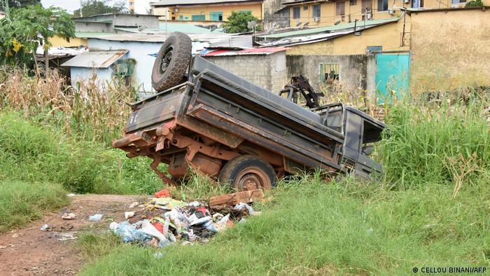 Guinea Conakry   Unruhen und Schüsse
