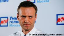 MOSCOW, RUSSIA - APRIL 22: Russian opposition leader Alexei Navalny with his supporters, held a public meeting with independent candidates for the Moscow's City Duma elections which will be held on a single voting day on September 8th, in Moscow, Russia on April 22, 2019. Sefa Karacan / Anadolu Agency