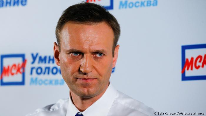 El opositor Alexei Navalny.