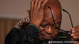 Südafrika Ex-Präsident Jacob Zuma