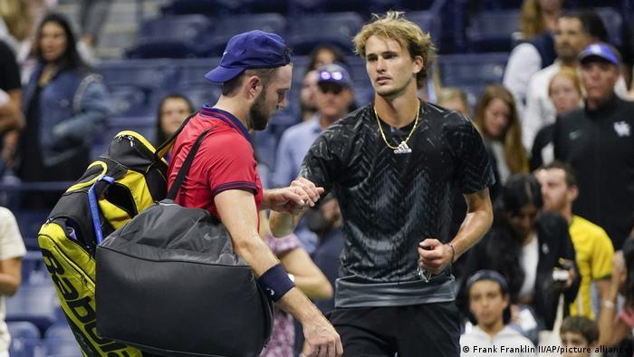 Tennis US Open Alexander Zverev und Jack Sock