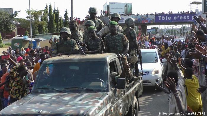 Hubo celebraciones tras el golpe.