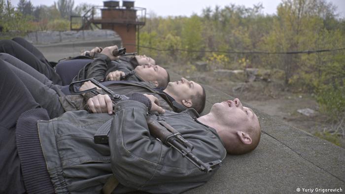 Кадр из фильма Носорог Олега Сенцова
