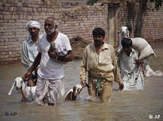 The country-wide floods inundated one-fifth of the country and left millions displaced