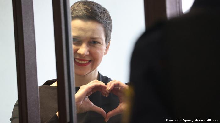 Maria Kolesnikova, lideră a opoziţiei din Belarus