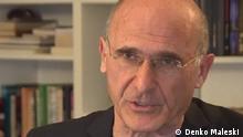 Denko Maleski, ehemaliger Außenminister Nordmazedoniens und Professor für Internationale Rechte an der Uni Skopje. Datum: Unbekannt Rechte: Denko Maleski