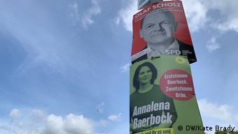 Предвыборная агитация в Потсдаме