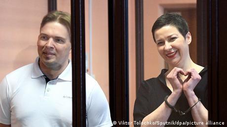 Belarus: Germany, EU slam Kolesnikova verdict