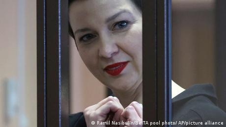 Belarus | Oppositionsaktivistin Maria Kolesnikova vor Gericht