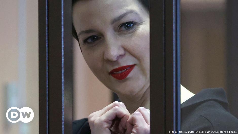 Maria Kolesnikowa: Ein Herz für Belarus