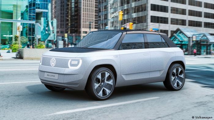 Soll junge Kundschaft anlocken: Elektro-City-Auto ID.LIFE von Volkswagen