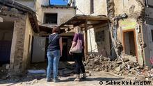 Altenburg, Ortsteil von Altenahr. 95 Prozent des Dorfes wurden durch die Flutkatastrophe vor sieben Wochen zerstört oder stark beschädigt. Die Fotos habe ich am 3.9.2021 gemacht.