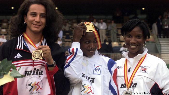 كاتا شوا في بطولة العالم لألعاب القوى 1999